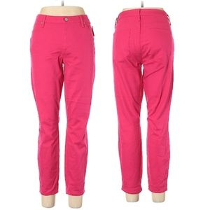 Gap Hot Pink True Skinny Ankle Pants